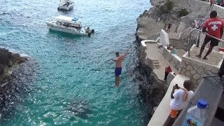 Download Tourists Join Cliff-Jumping Craze That Kills Dozens Each Year Video