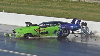 Download Drag Racing Wrecks, Wheelies & Close Calls Compilation Video