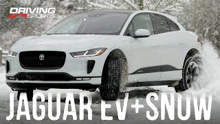 Download 2019 Jaguar I-PACE EV400 vs Snow and Ice - Full Review #drivingsportstv Video