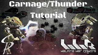 Download Walking War Robots-Carnage Thunders Tutorial-Tips and Strategy Video