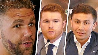 Download Billy Joe Saunders INTERRUPTS GGG vs CANELO Presser With Questions! Video