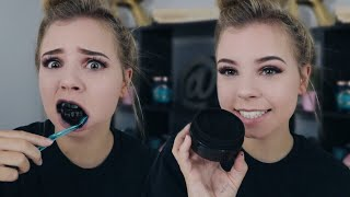 Download Does This Actually Work?! Charcoal Teeth Whitening Carbon Coco Review Video