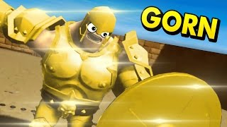 Download HEAVILY ARMORED GLADIATORS IN VIRTUAL REALITY! (GORN VR HTC Vive Funny Gameplay) Video