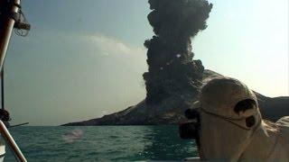 Download Eruption of Anak Krakatau Volcano Video