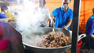Download Jakarta Street Food - HUGE Indonesian Lamb Fried Rice for 1000 People/ Nasi Goreng Kambing / Biryani Video
