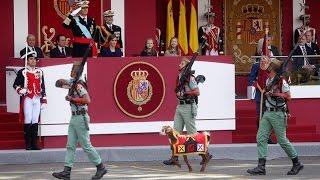 Download Así fue el desfile militar del Día de la Hispanidad 2015 Video