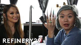 Download Cardi B's Nail Artist Gave Me 2 Inch Nails | Beauty With Mi | Refinery29 Video
