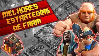 Download AS MELHORES ESTRATÉGIAS DE FARM PARA CV10/TH10 NO CLASH OF CLANS!! Video