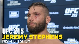 Download UFC 215: Jeremy Stephens ″Would Love″ to Fight Jose Aldo Next – MMA Fighting Video