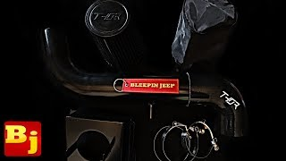 Download Coldest Intake EVER! - Jeep TJ THOR Intake Install and Live Data Test Video