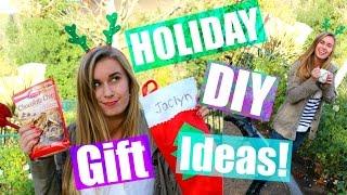 Download Cute DIY Holiday Gift Ideas + Secret Santa?!? Video