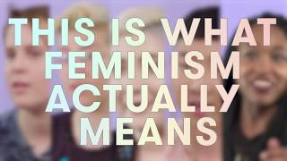 Download What It Means To Be A Feminist Video
