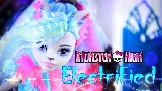 Download Unbox Daily: Monster High Electrified - Silvi Timberwolf - Doll Review - 4K Video
