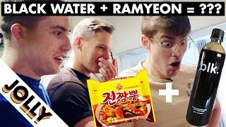 Download WHAT HAPPENS WHEN YOU COOK NOODLES IN BLACK WATER?!! Video