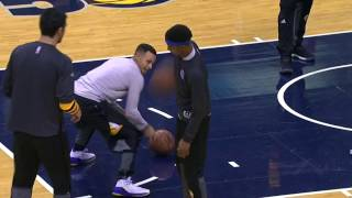 Download Stephen Curry Curling, Volleyball, Football Imitation Video