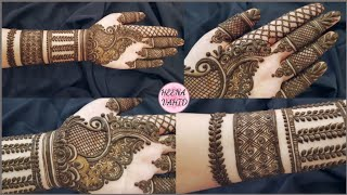 Download New style Dubai henna design 2019 | unique mehndi design for hand | heena vahid. Video
