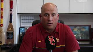 Download USC Football - Clay Helton Q&A: Texas Video