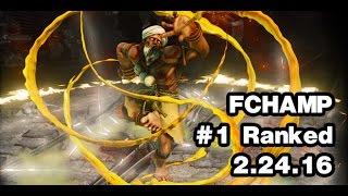 Download [SFV] FChamp Dhalsim Ranked - Current Ranked #1 - Street Fighter 5 Video