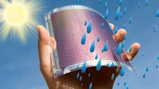 Download New solar panels could generate electricity from raindrops; Floating solar farm - Compilation Video