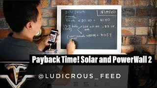 Download Payback Time for Tesla PowerWall2 and 5kW Solar Array Video