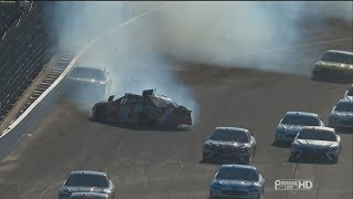 Download Monster Energy NASCAR Cup Series 2017. Indianapolis Motor Speedway. M. Truex Jr. & Ky. Busch Crash Video