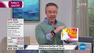 Download Apple iPad 10.2″ Gold 32GB with Voucher, Keyboard and He... Video