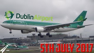 Download Spotting at Dublin Airport [EIDW] | 5th July 2017 Video