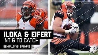 Download RGIII Flea Flicker INT Leads to Tyler Eifert's 2nd TD Catch! | NFL Week 14 Highlights Video