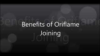 Download Benefits of Oriflame Joining Video