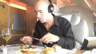 Download Emirates First Class Suite, A380 BKK-HKG-BKK Video