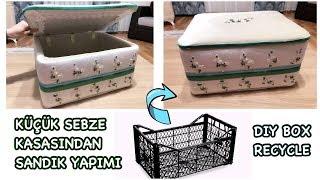 Download SEBZE KASASINDAN SANDIK YAPIMI, Plastik Kasa | HOW TO MAKE A RECYCLED BOX | PLASTIC CRATES IDEA Video