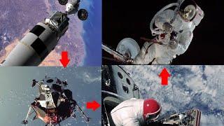 Download Binadamu wa kwanza kuzunguka mwezi vituko safarini Apollo 8 and 9 mission orbiting the moon detailed Video