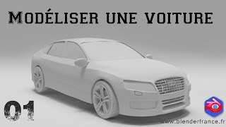 Download Modéliser une voiture avec Blender - Introduction et préparation du projet Video