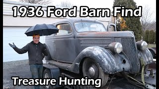 Download 1936 Ford Barn Find Treasure Hunting Video