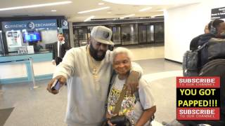 Download Rick Ross arriving at LAX Airport in Los Angeles Video