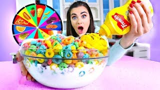 Download Mystery Wheel of FOOD Challenge! Video