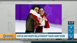 Download Virtue & Moir's Relationship Takes Hard Work! Video