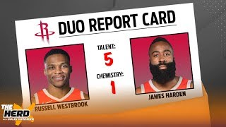 Download Colin Cowherd grades the Top 12 duos currently in the NBA & sorts them by tier | NBA | THE HERD Video