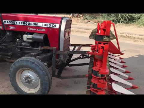 Tractor reaper - shree charbhuja agro engineering