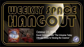Download Weekly Space Hangout: 10/31/2018 - David Dickinson Video