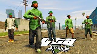 Download Grove Street vs Ballas - (GTA V Machinima) Video