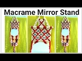 Download Amazing DIY of Macrame mirror wall hanging watch full video HD Tutorial Video