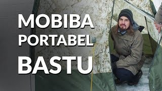 Download Mobiba - Portabelt bastutält | Explore Bushcraft 2018 #3 Video