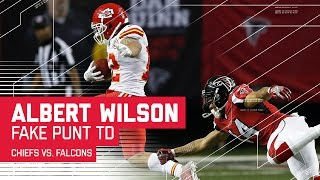 Download Albert Wilson's 55-Yard Fake Punt TD! | 🚨Trick Play Alert🚨 | Chiefs vs. Falcons | NFL Video