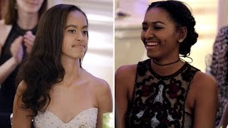 Download How Sasha And Malia Obama Have Grown Up Over The Last 8 Years Video