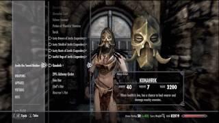 Download Skyrim - Change Follower Companion Armor Clothes Gear Video