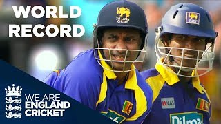 Download Jayasuriya and Tharanga Break World Record For Opening Partnerships | ODI 2006 - Highlights Video