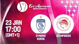 Download LIVE 🔴 - Dynamo Kursk v Olympiacos - EuroLeague Women 2019 Video