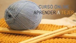 Download Curso online gratis Aprender a tejer 4: Como hacer aumentos y disminuciones. Video