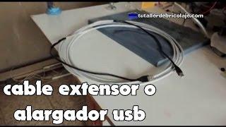 Download Cómo hacer un alargador o extensor usb Video